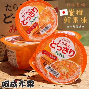 日本長崎蜜柑鮮果凍8盒 (230g×6個入/盒)