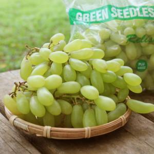 美國加州無籽青葡萄8.6kg/箱