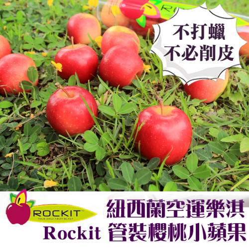 紐西蘭樂淇管裝小蘋果(買3送3)5粒/350g/管