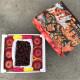 (春節禮盒)櫻櫻美黛子禮盒(紐澳櫻桃1盒/28mm/2kg+6粒青森蜜蘋果)4kg/盒